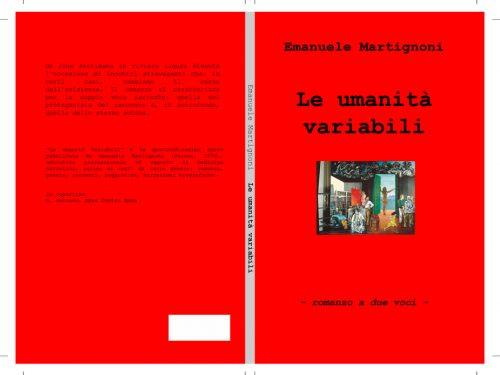 LE UMANITA' VARIABILI – romanzo a due voci –